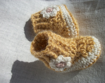 """Waldorf doll shoes, alpaca, wool, Waldorf doll sweater, doll boots, sole approx 3.5"""" long and top is approx 3"""" high"""