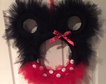 Minnie Mouse Wreath