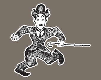 """8"""" x 10"""" Chaplin Print by artist Shawn Hancock - Free Shipping in US for a limited time!"""