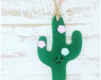 Cute cactus. Cactus decoration. Cactus gift.