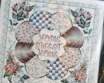 Counted Cross Stitch Kit - Home Sweet  Home