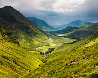 Glen Etive, Scotland Landscape Photograph