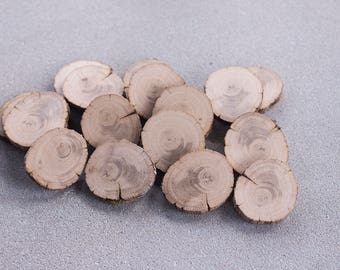 10  rustic wood slices, Wood coasters from old oak, Tree branch slices for DIY projects, Wedding table decor, Wood table decor, Woodland