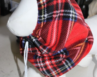 Fleece Snoods for Dogs - Cats (Winter Hats)