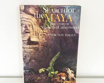 RARE BOOK Search for the Maya (1973) First edition
