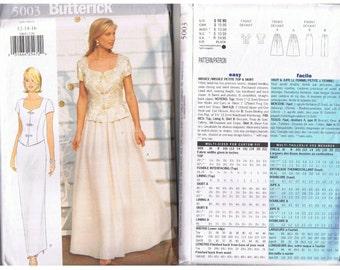 Butterick Dress Bridal Pattern 5003