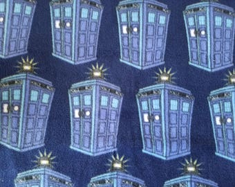 Dr Who Tardis Fleece Fabric (30 inches)