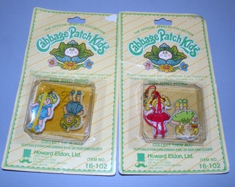 Two 1983 Cabbage Patch Kids Jewelry Sets in Original packages