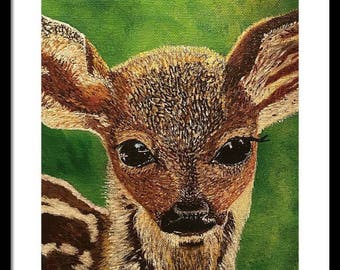 Acrylic Painting-Fawn