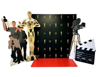 Hollywood Red Carpet Set