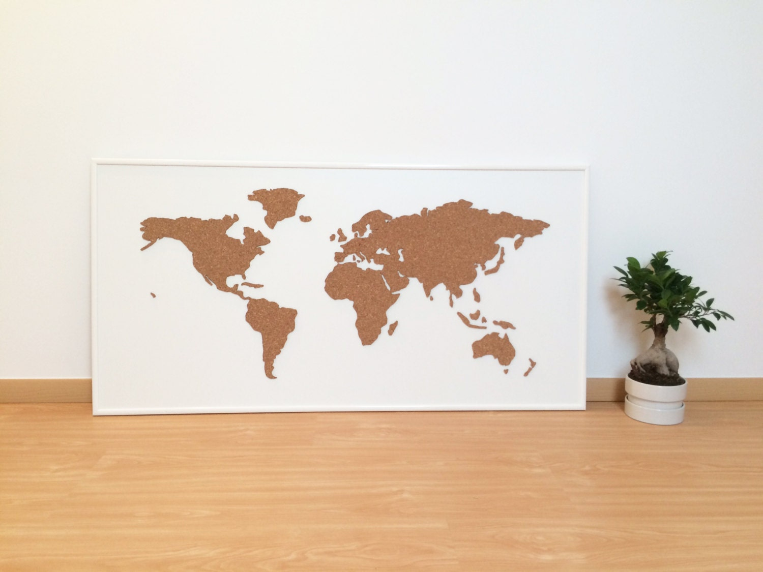 Cork board world map white zoom gumiabroncs Choice Image