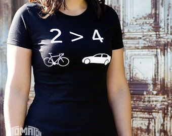 2>4 Bicycle Women's shirt