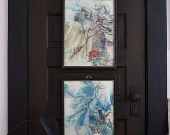 Set of 2 Asian Prints