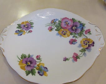 ENGLAND QUEEN ANNE Cake Plate