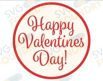 Happy Valentine's Day SVG/DXF