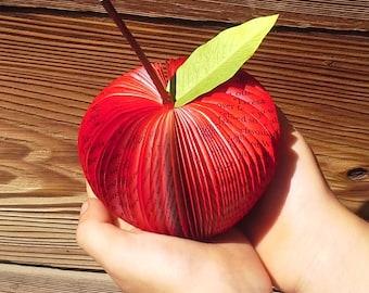 Teacher's Apple~Teacher's gift~English teachers~Art Teachers~Graduating with Teaching Degree