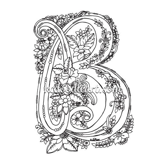 electronic coloring book for adults instant digital download coloring page for adults and