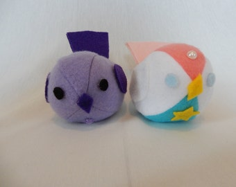 Steven Universe Squeaky Birds Amethyst and Pearl