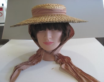 REDUCED:1930's Hollywood Glam Hat