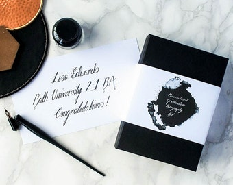 Personalised Graduation Calligraphy Kit
