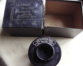A old vintage Paterson Major developing processing tank film 127 120 620 116