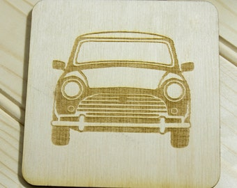 Classic mini Coasters. Laser cut from birch ply or poplar ply