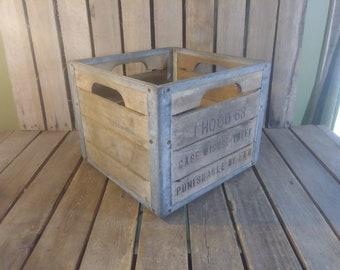 Hood Milk Crate 1963