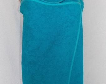 Terry Cloth Towel Dress, Spa Wrap,  College Bath Wrap, Bath Towel Wrap