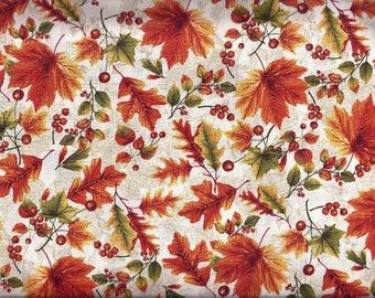Fall Leaves Curtain Valance