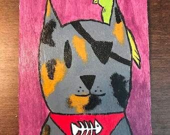 Pirate Cat Magnet