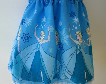 Princess Skirt in blue