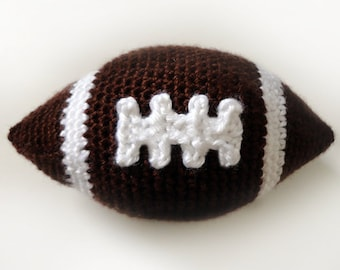 Mini Football - PDF Crochet Pattern - Instant Download