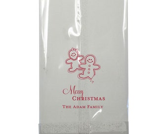 Christmas Personalized Cellophane Bags