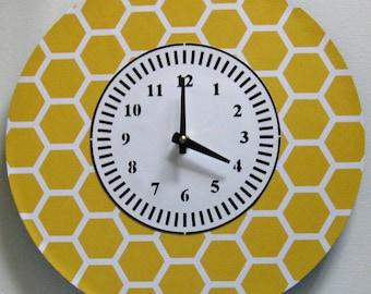 Wall clock. Modern clock. Vinyl clock. Unique clock. Office clock.