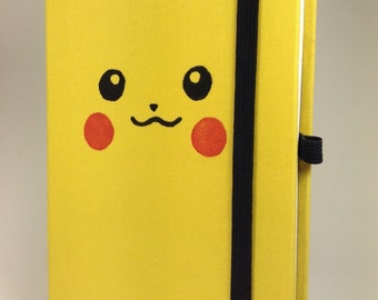 Yellow Pikachu Sketchbook Notebook Pokemon