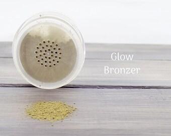Mineral Bronzer Glow / Matte Bronzer / Loose Bronzer / Powder / Natural Cosmetics