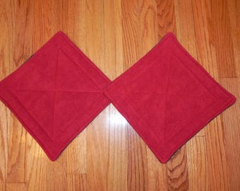 Pet Mats -Set of 2 - 11 inch squares - Pee Pads to keep your pets clean and smelling fresh!