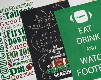 Football Dish Towels