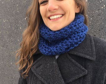 Cozy Crocheted Cowl