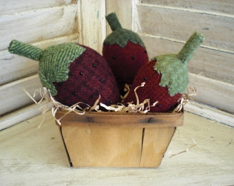 Wool Strawberries