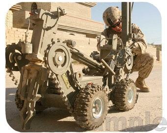 Mouse Pad; Ied Detonator Marine Robot In Iraq
