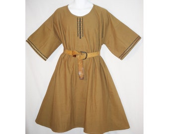 Sz XL Medieval Cotton Norman, Saxon, or Viking Tunic SCA, LARP