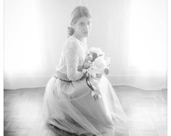 ♡ shot: tulle skirt made-to-measure fully customizable (e.g. skirts made on request)