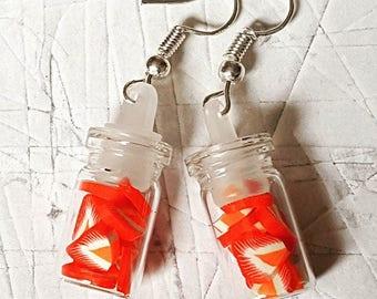 Strawberry Jar Earrings