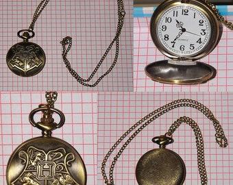 The Hogwarts Crest Watch necklace