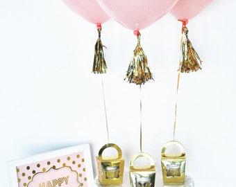 Birthday Party Centerpieces Balloon Centerpieces Birthday Party Decorations Birthday Balloons Birthday Decor (EB3110BIR) - SET of 3 Balloons