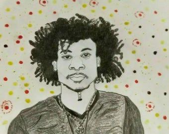 Allow Portrait Fine Art Print