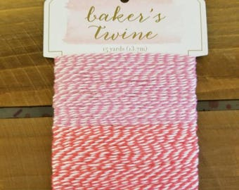 Baker's Twine Pink