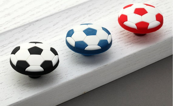 Kids Football Dresser Knobs Drawer Knobs Pulls Handles Kid Cabinet ...