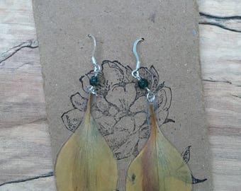 Alstromeria - Pressed Flower Earrings